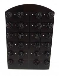 E581-12 paires de B.O perles
