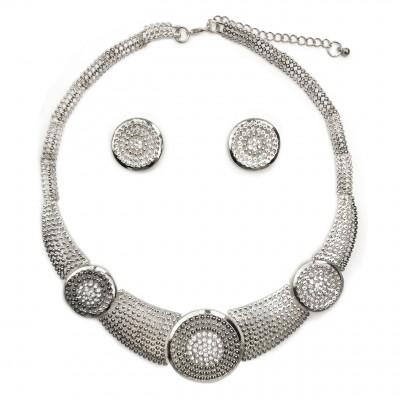 collier ras de cou métal