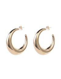 boucles d'oreilles cercles métal