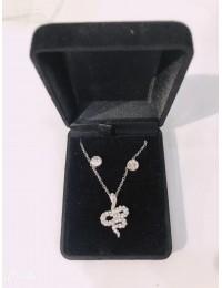 N208-parure collier pendentif
